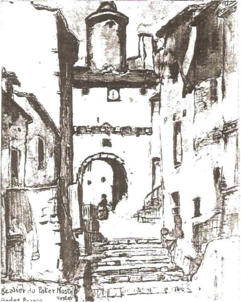 Escalier du Pater Naster