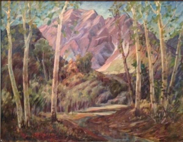 A Glimpse of Timpanogos Peaks
