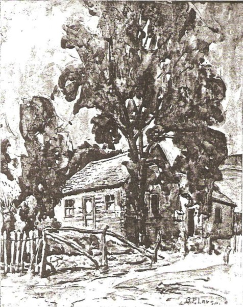Old Cabin at Walsburg