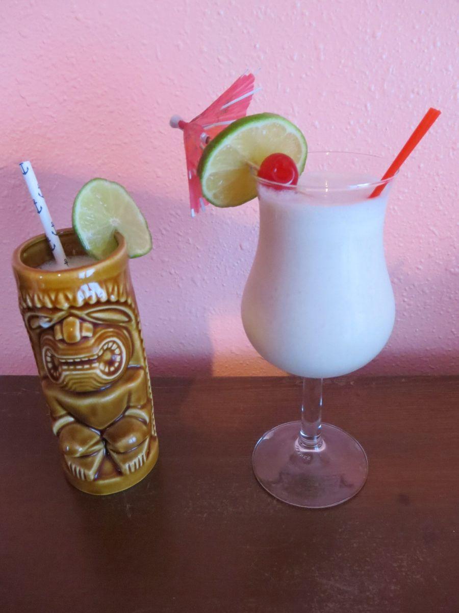 Aloha cocktail syrup nails kit