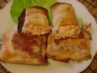 Рыба в лаваше в духовке рецепт с фото пошагово