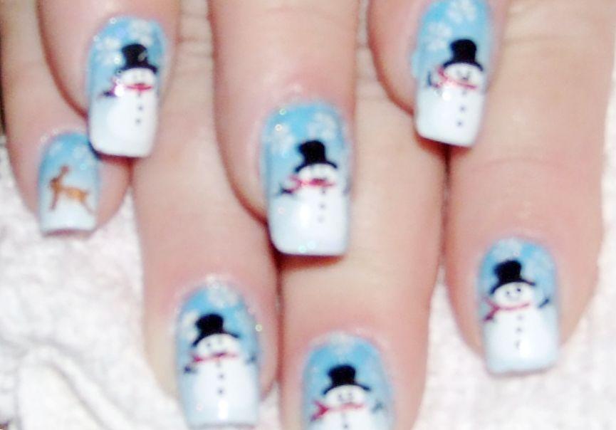 Crazy design nails