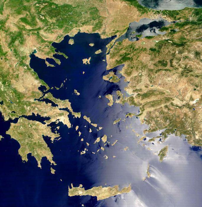 Крит море какое омывает