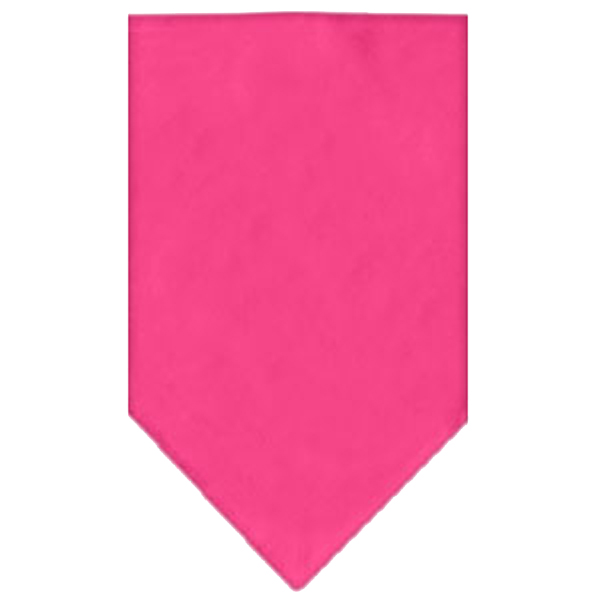 Bright pink bandanas