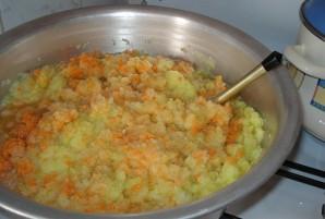 Икра из кабачков с краснодарским соусом