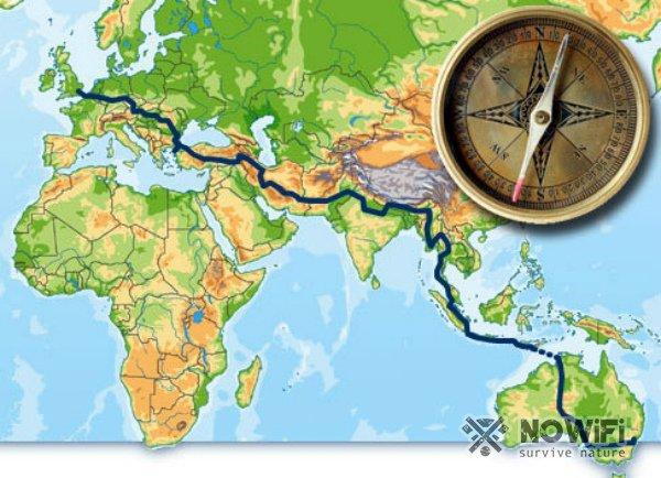 Как узнать на карте где юг а где север