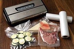 Vacuum seal packaging