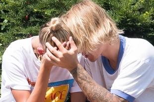 Фанаты гадают, почему Джастин Бибер и Хейли Болдуин неожиданно расплакались во время прогулки