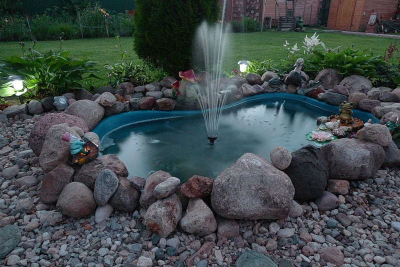 Идеи для фонтанов