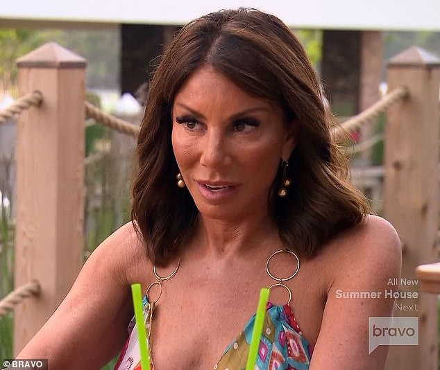 Real housewife danielle staub arrested