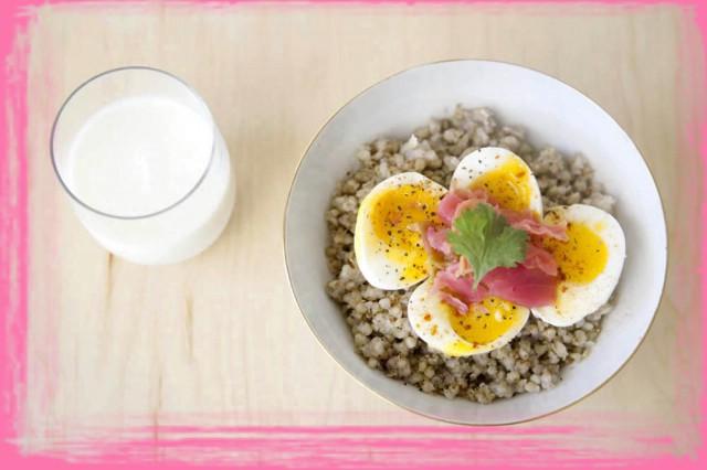 На завтрак гречка с кефиром отзывы