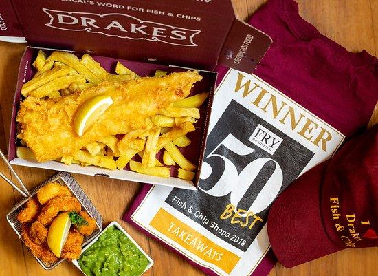 Drakes chip shop torquay