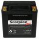 hYTX14HL Scorpion 12v 240 CCA Harley HVT-3 AGM Motorcycle Battery