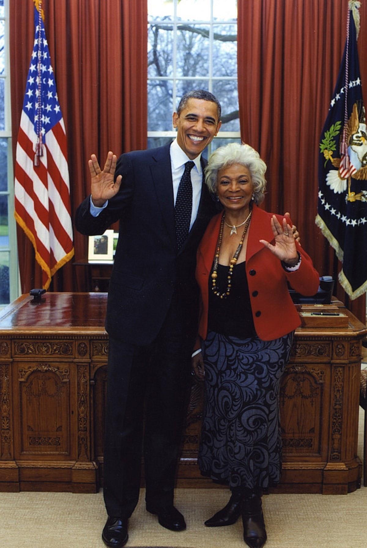 Barack obama star trek