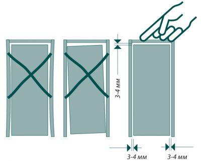 Щель между дверью и коробкой чем заделать