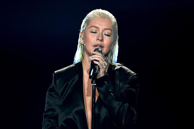 Кристина Агилера на American Music Awards