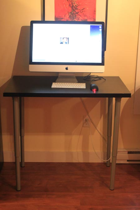 The 100 Dollar Ikea StandUp Desk