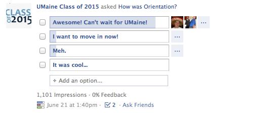 UMaine Orientation