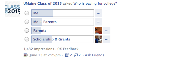 Who's paying for college?