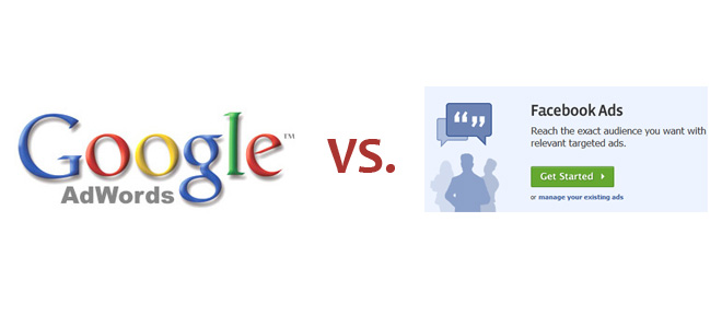 Google Adwords vs. Facebook Ads - What's the Difference?