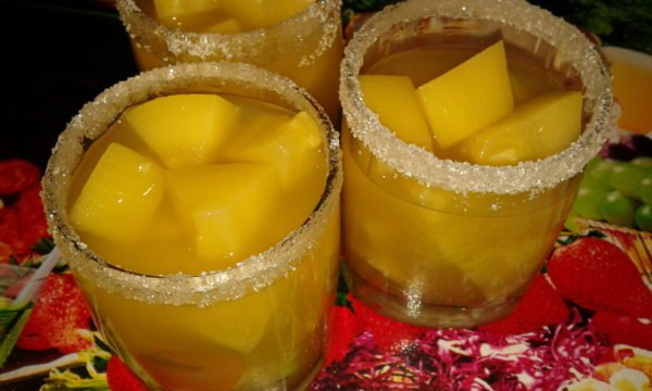 Рецепт кабачков под ананасы