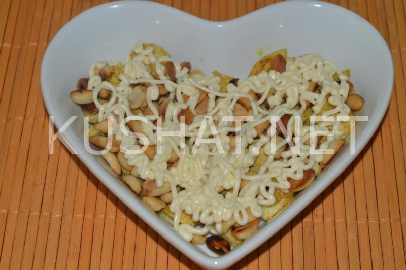 8_салат Тиффани с курицей и виноградом
