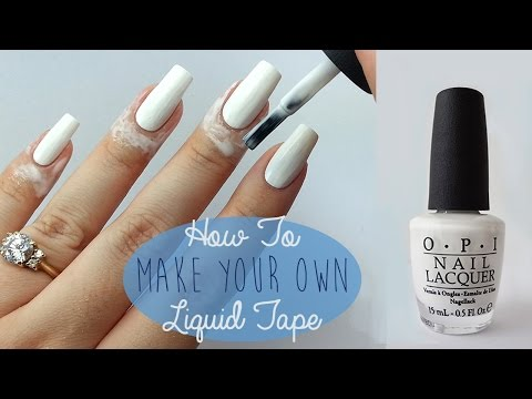 Liquid tape for nails target