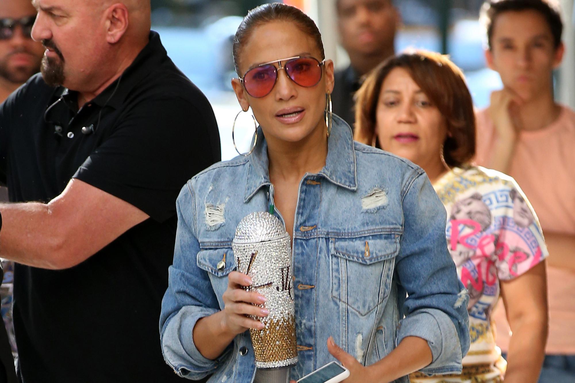 Jennifer lopez manhattan