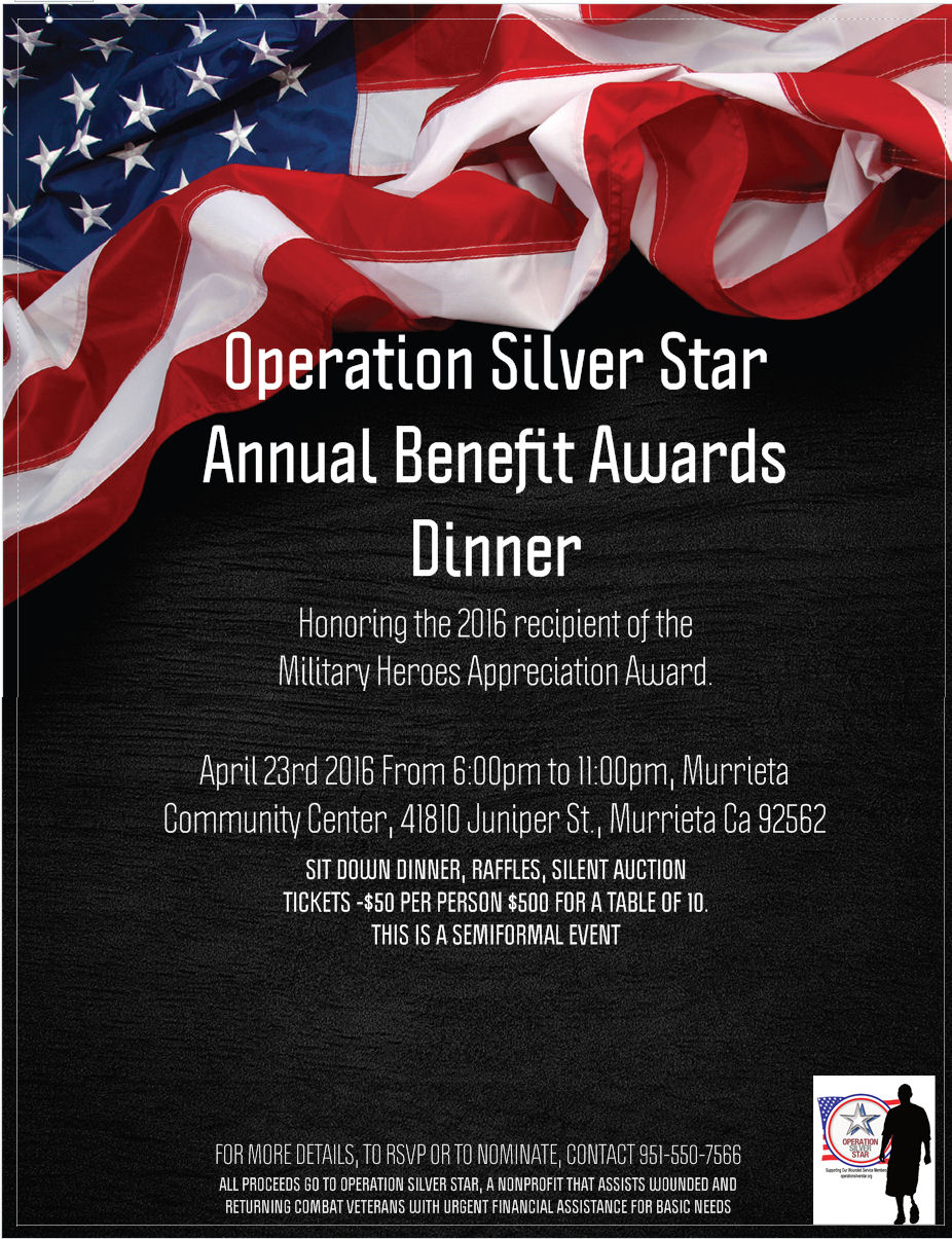 April 23, 2016Annual Benefit Awards Dinner