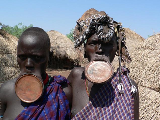 Племя в африке