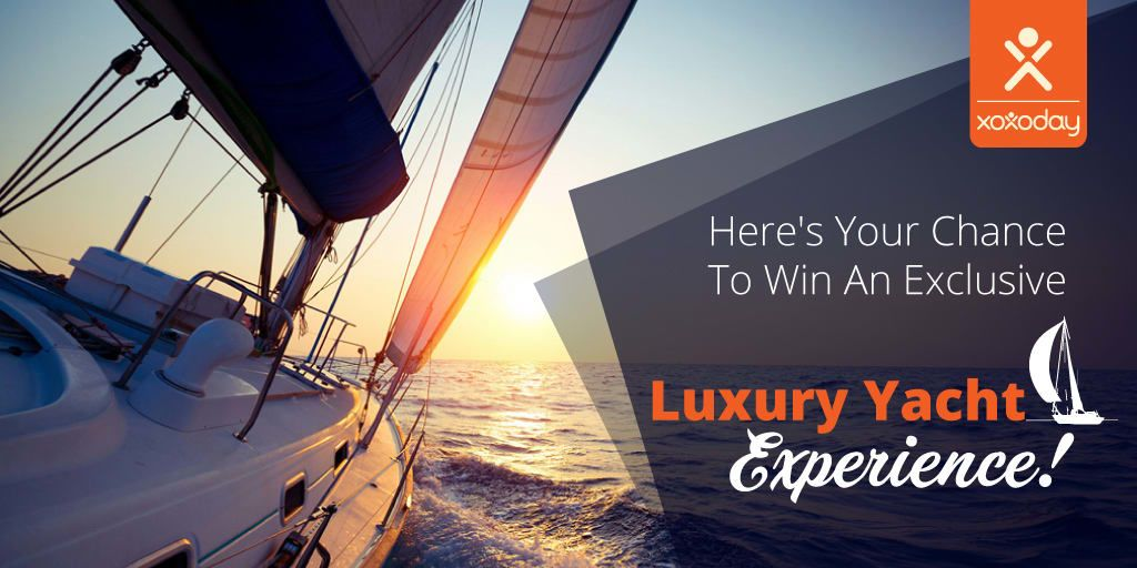 Chance To Win An Exclusive Luxury Yacht Experience