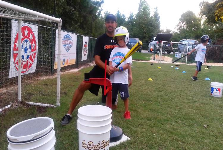 HITTING/PITCHING LESSONS FOR 1 MONTH  WITH BACKYARD DUGOUT