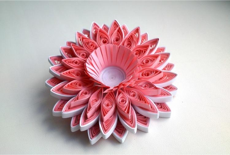 3D PAPER QUILLING ART