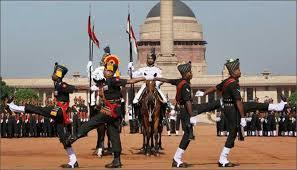RAJPATH CHANGE OF GUARDS CEREMONY AND VISIT TO INDIA'S NATIONAL MUSEUM