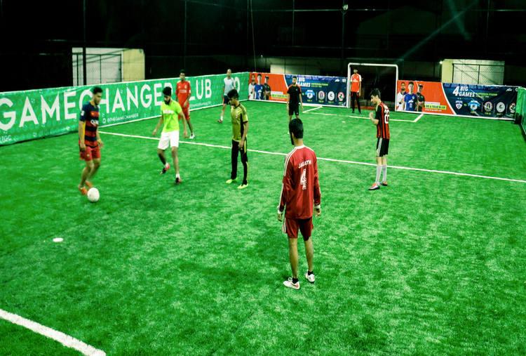 PLAY  FOOTBALL AT EKAM SPORTS AREENA