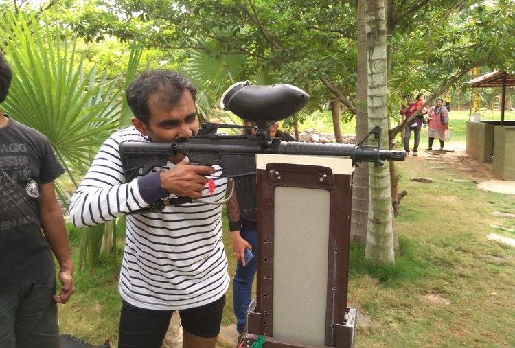 TARGET SHOOTING (10 BULLETS)