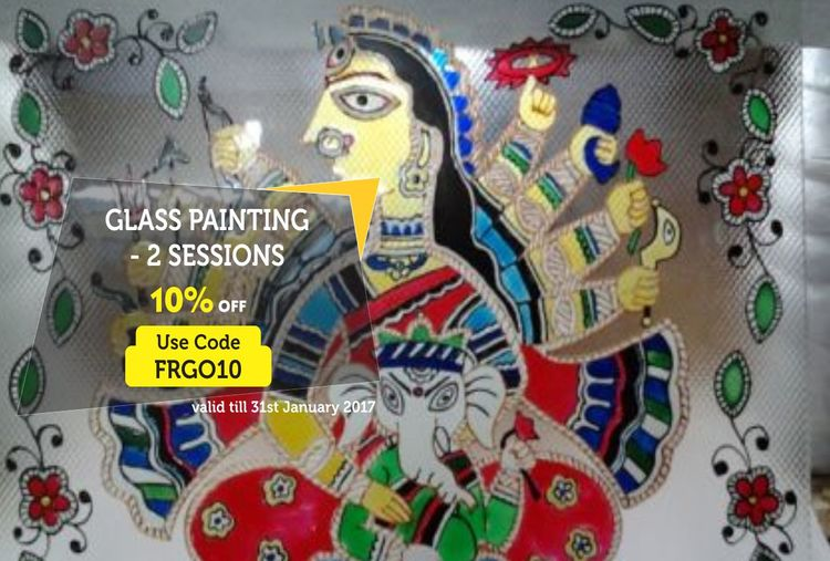 GLASS PAINTING - 2 SESSIONS