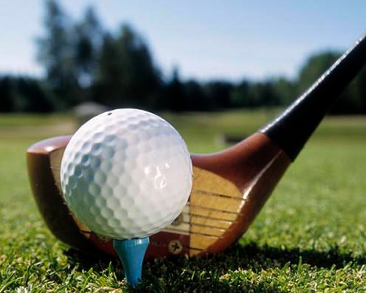 PRIVATE GOLFING COURSE