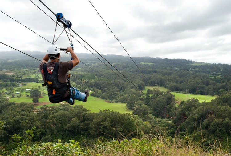 ZIP LINE ADVENTURE AT RISHIKESH (FOR ADULTS)