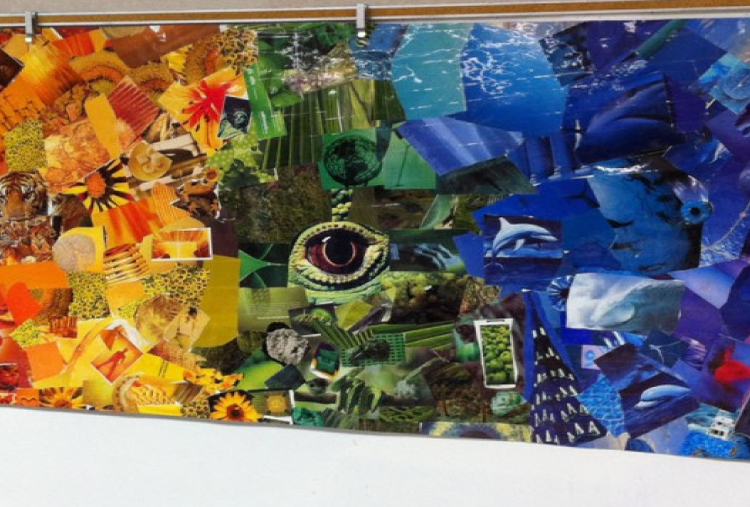 COLLAGE PAINTING CLASSES - 3 SESSIONS
