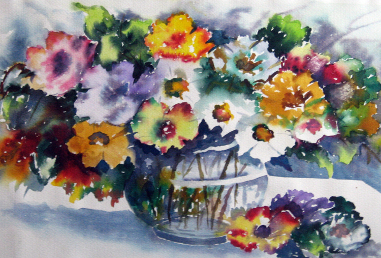 WATER COLOUR PAINTING - 6 SESSIONS