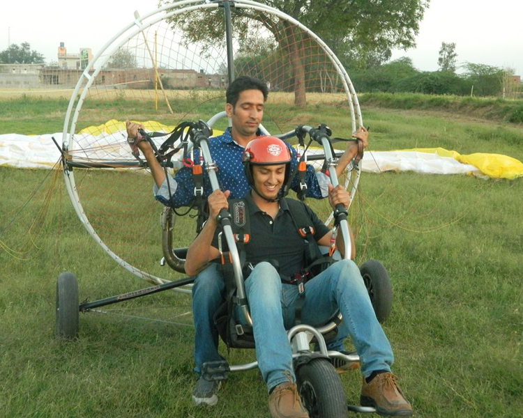 PARAGLIDING BY FLY INDIA ADVENTURE