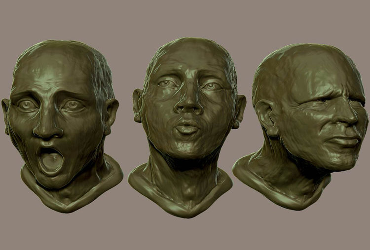 EXPRESSIONS IN CLAY