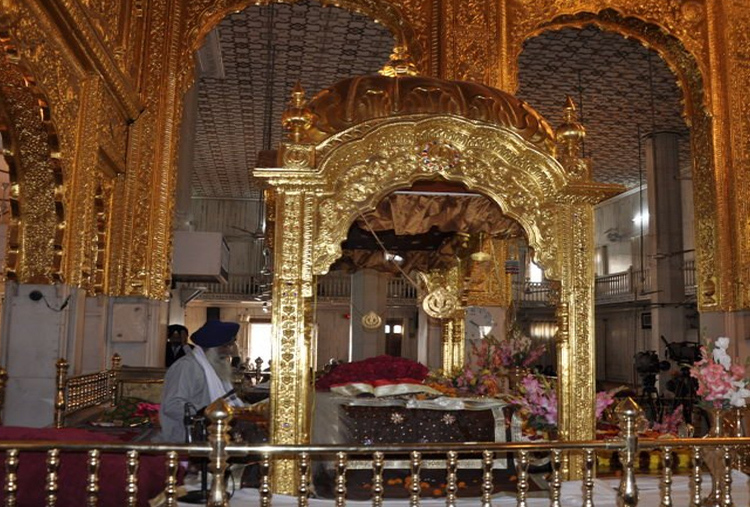 VISIT TO GURUDWARA BANGLA SAHIB