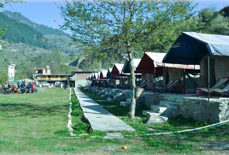 HILL STATION CAMP AT CHAIL