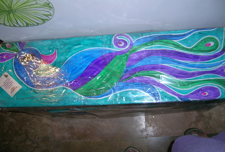 PAINT A BENCH