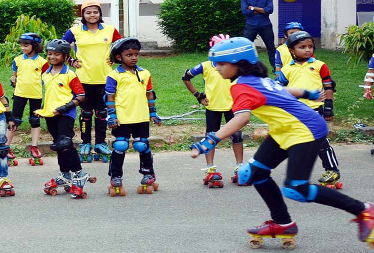 ROLLER SKATING AT ARAVALI SPORTS