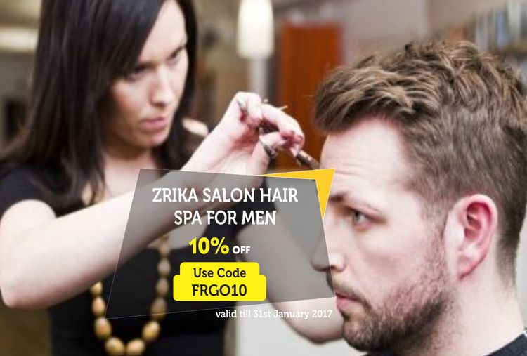 ZRIKA SALON - PAMPERING SESSION FOR MEN