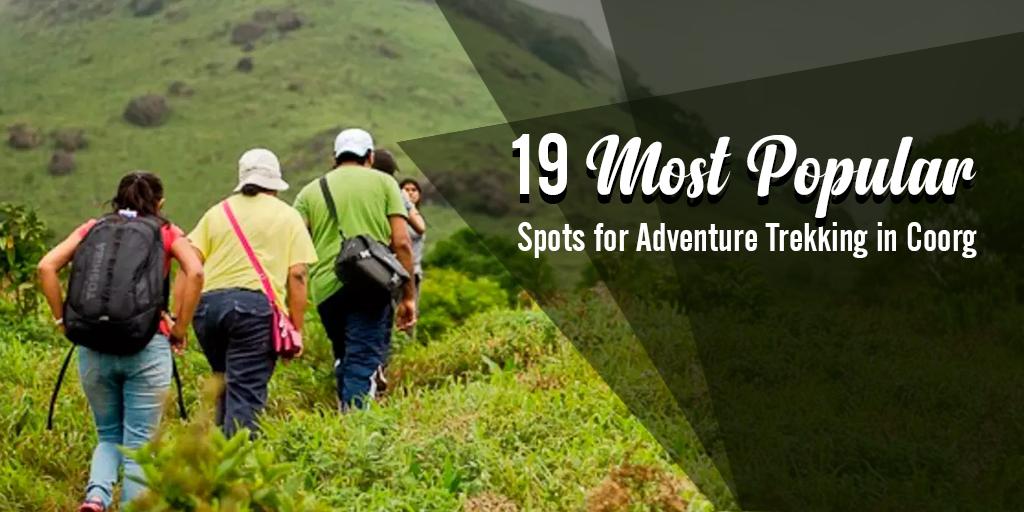 Popular Spots for Adventure Trekking in Coorg
