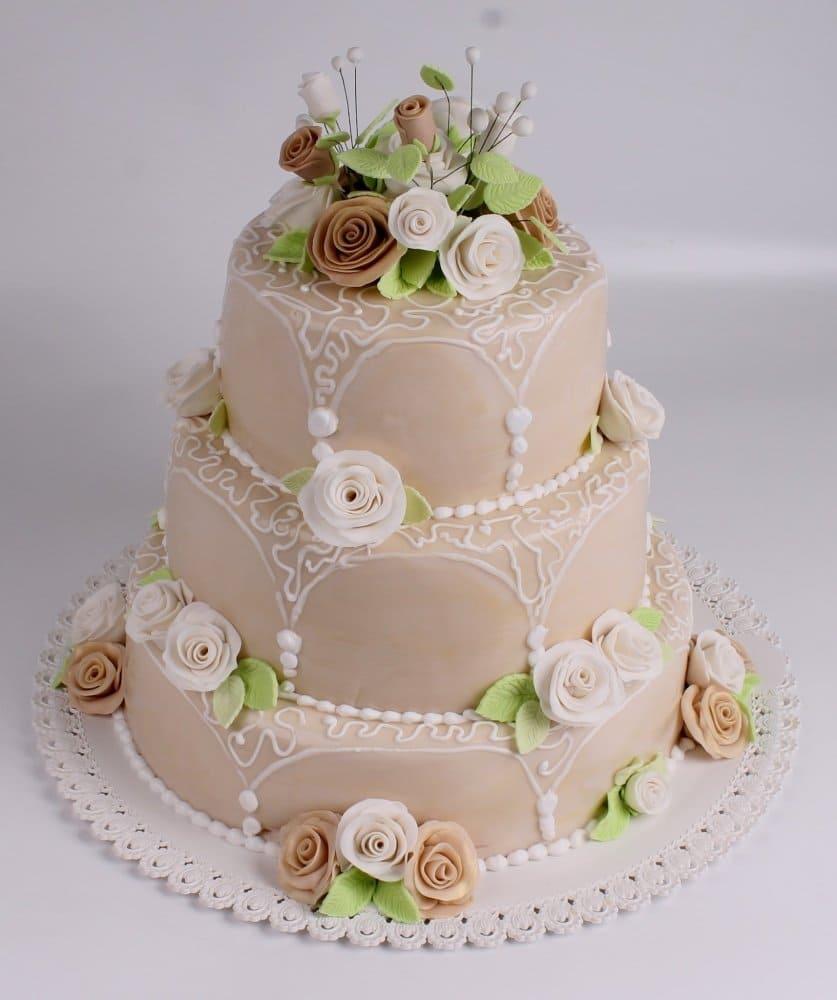Торты для свадьбы фото